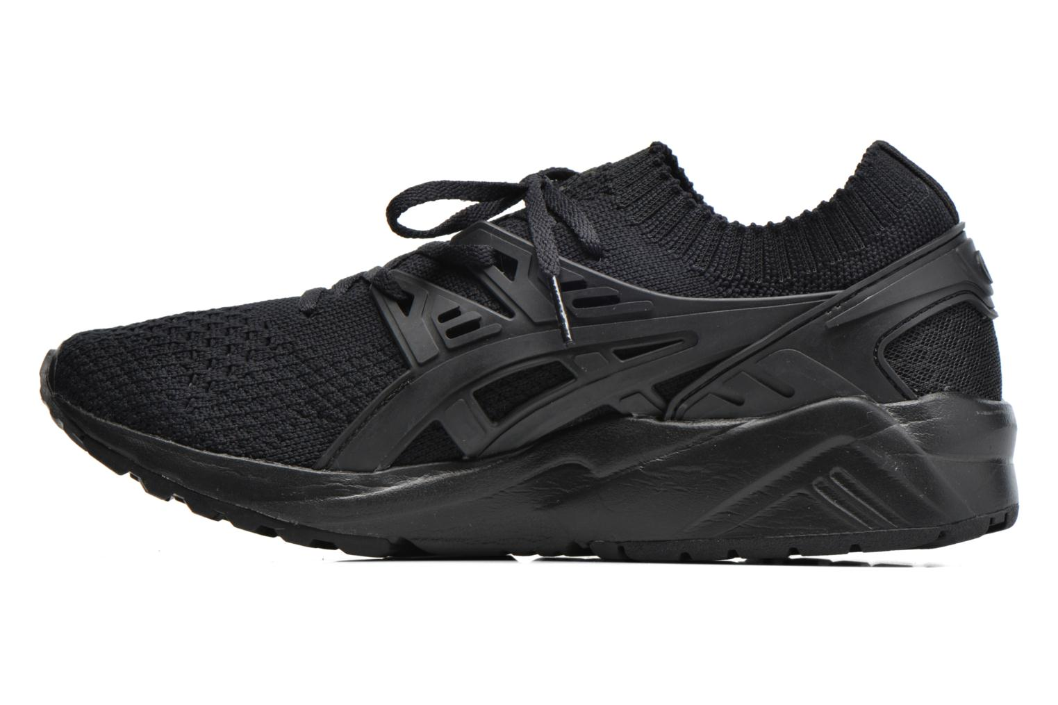 Baskets Asics Gel Kayano Trainer Knit W Noir vue face